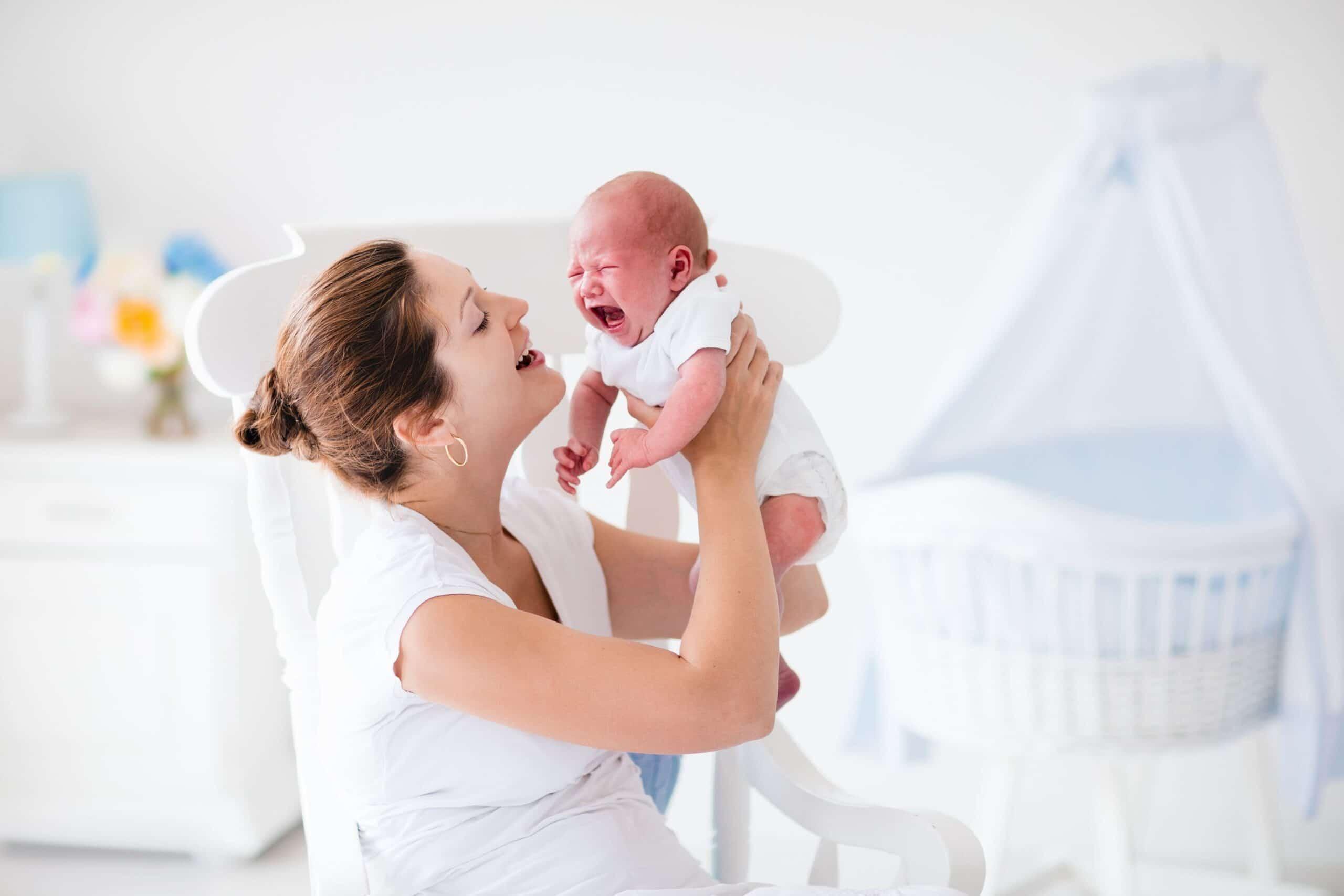 eliminar colicos a un bebe