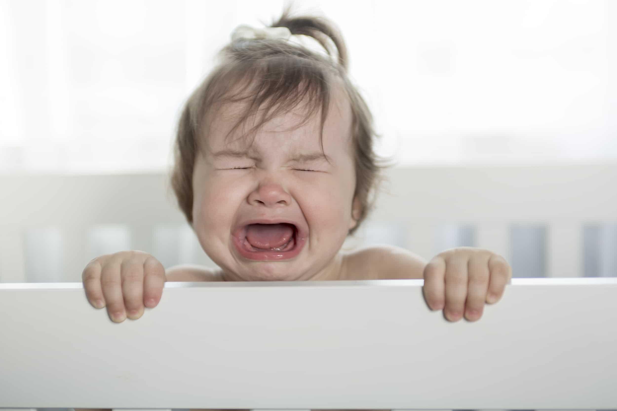 porque los bebes lloran dormidos